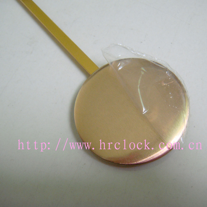 Clock parts pendulum bob factory wholesale