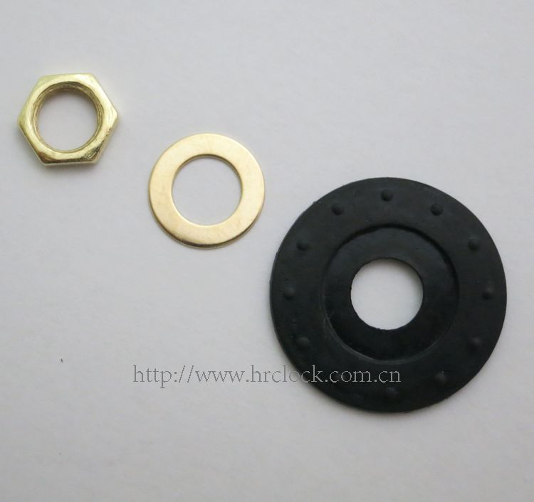 Metal nut Wall clock parts