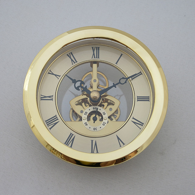 Skeleton clock insert