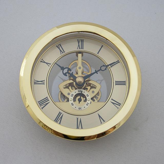 Skeleton clock insert