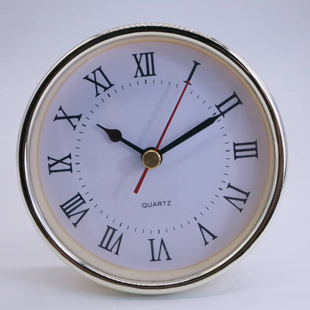 Diameter 102MM plastic quartz clock inserts