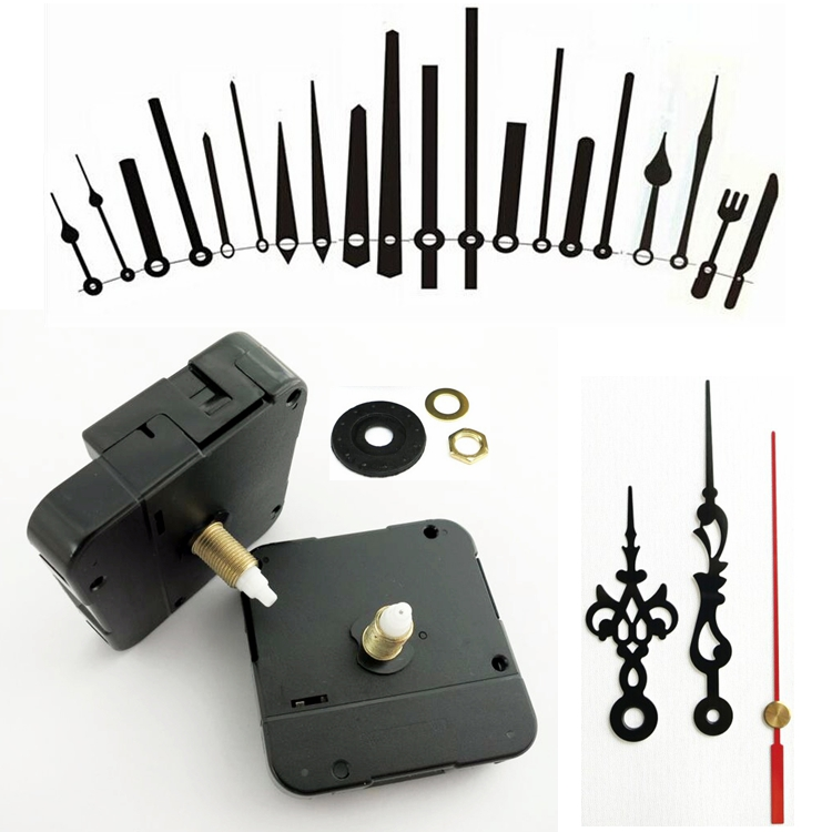 DIY clock movement clock parts