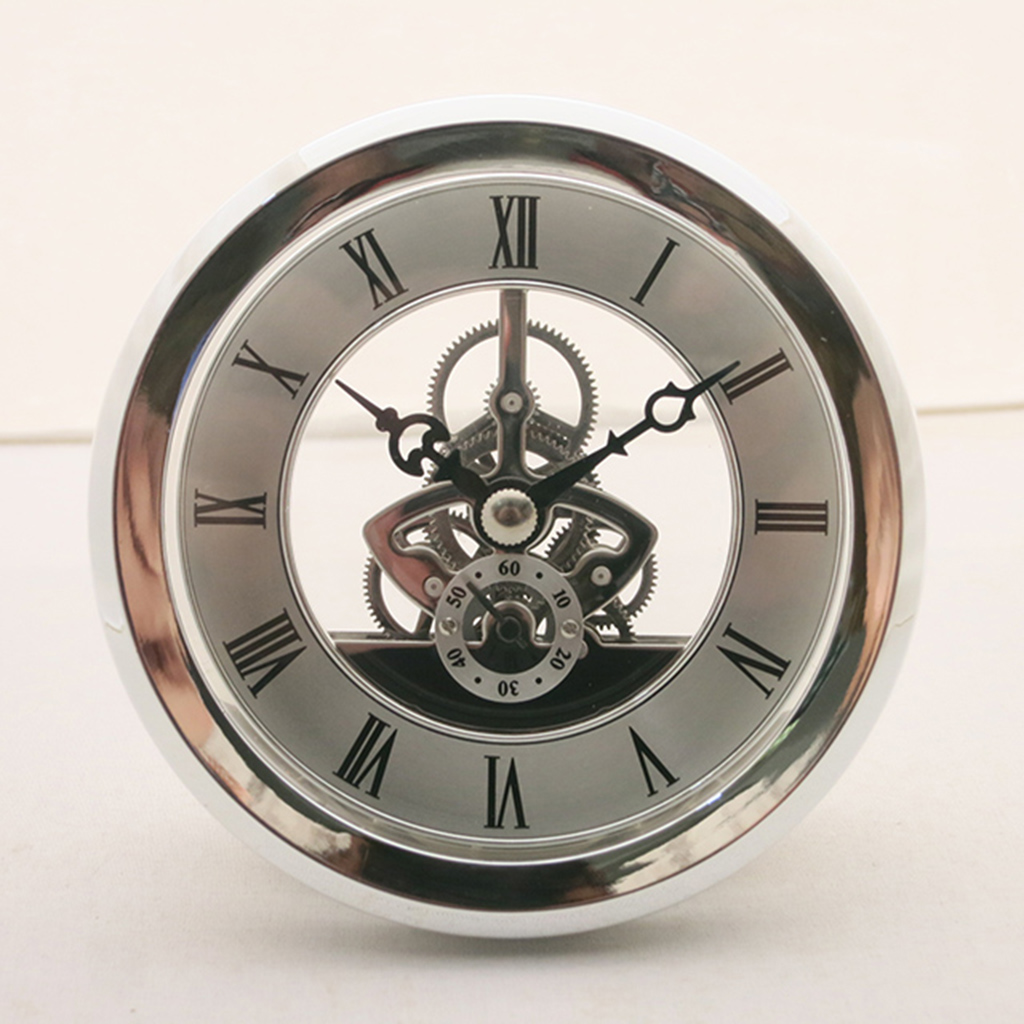 Diamter 103mm skeleton clock