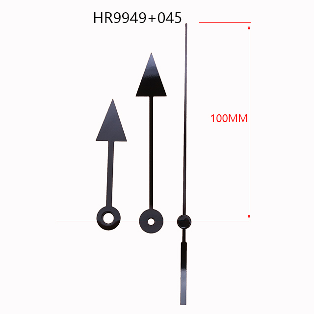 HR9949 Metal clock hands 045 Metal second hands