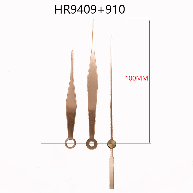 HR9409 Metal clock hands 910 Metal second hands